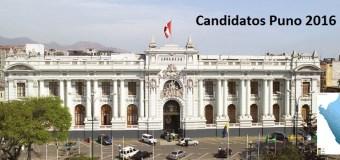 Candidatos al congreso favoritos en Puno