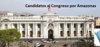 Candidatos al congreso favoritos en Amazonas