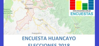Encuesta Alcaldía de Huancayo – Setiembre 2018