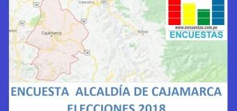 Encuesta Alcaldía Provincial de Cajamarca – Setiembre 2018