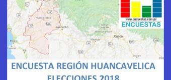 Encuesta Región Huancavelica – Setiembre 2018