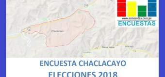Encuesta Alcaldía de Chaclacayo – Setiembre 2018