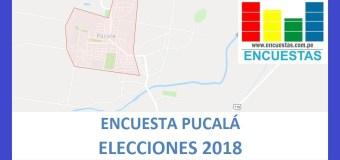 Encuesta Alcaldía Distrital de Pucalá – Agosto 2018