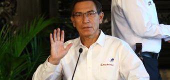 Aprobación de Martín Vizcarra subió a 87% en Marzo 2020, según Ipsos Perú