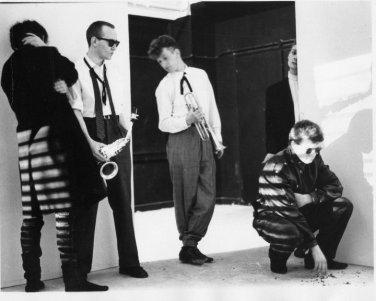 DVA 1981 line up with Dave Palmer