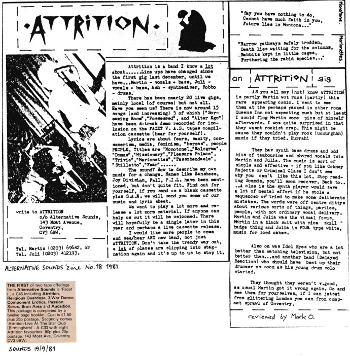 Attrition 1981