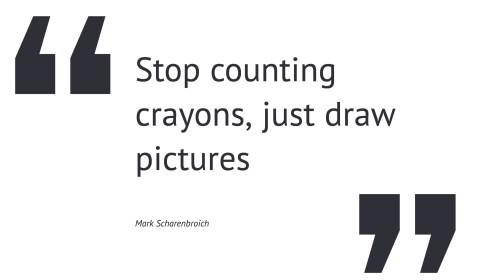 quote - crayons