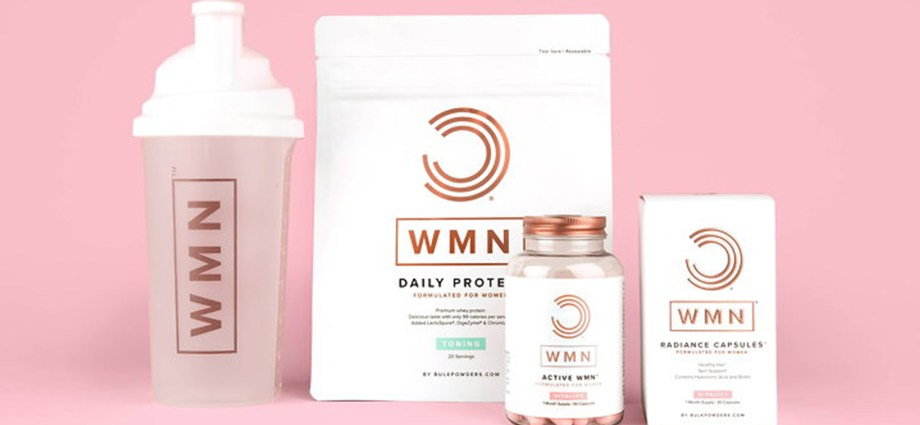 Robot Food Designs Branding for BULK POWDERS' WMN