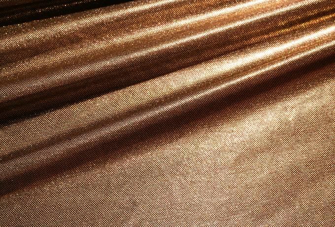 fabric shiny metallic