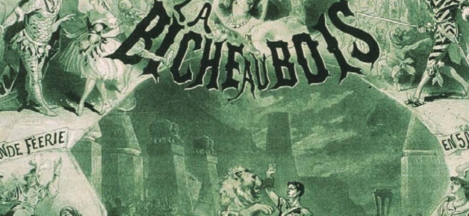 La Biche au Bois by Jules Cheret