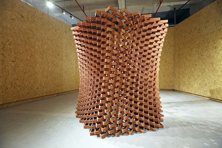 In China, an Experimental Pavilion of Ceramic Bricks Fuses Craftsmanship and Digital Fabrication, © Christian J. Lange