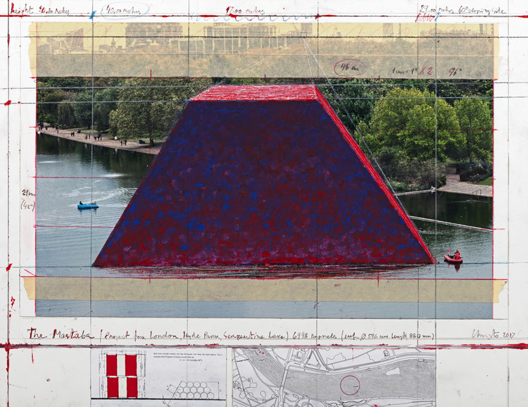 7,500 Barrels To Feature in Christo's First UK Outdoor Public Sculpture, Courtesy of Christo