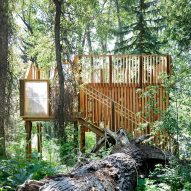 Aces Treehouse by Charles Cunniffe Architects