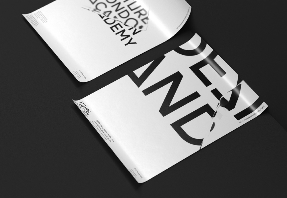New Logo and Identity for Future London Academy by ONY