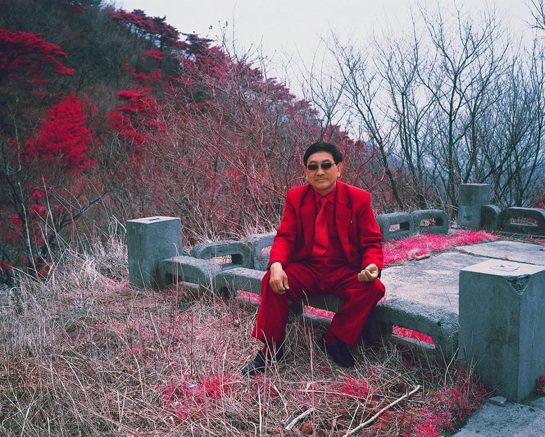 Infrared Photos of North Korea by Karim Sahai