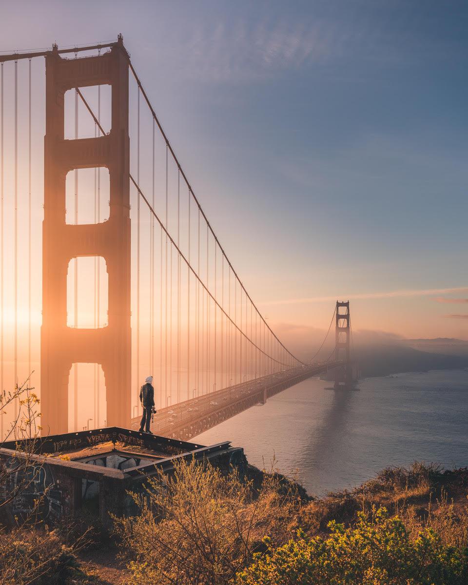 Michael T. Meyers Golden Gate Bridge Photo