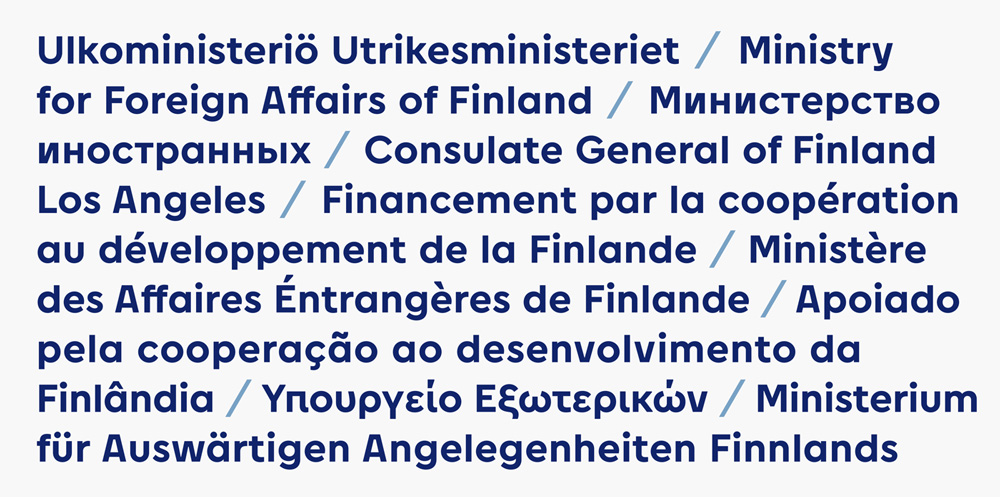 New Logo and Identity for Ministry for Foreign Affairs of Finland by 358