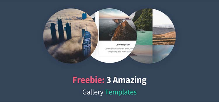 3 Amazing Bootstrap 4 Gallery Templates