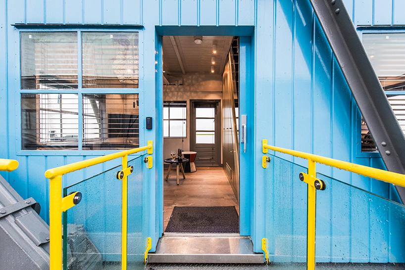 converted dockyard crane yays hotel
