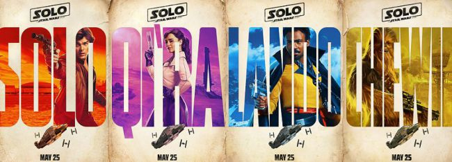 Solo film promotional poster