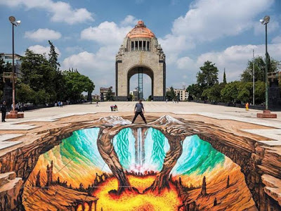 11 Most Amazing 3D Street Art Illusions