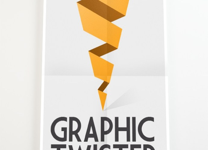 PSD Poster Mockup Presentation - Graphic Twister