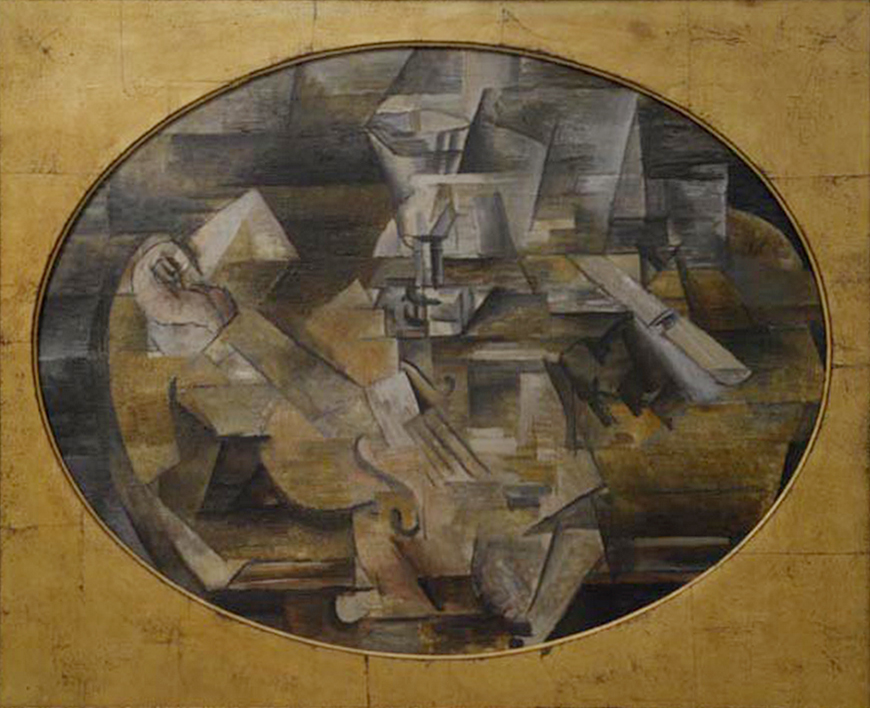 Georges Braque Oval Still Life