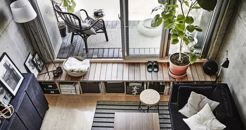 Clever Small-Space Ideas From a Super Functional 269-Square-Foot Apartment