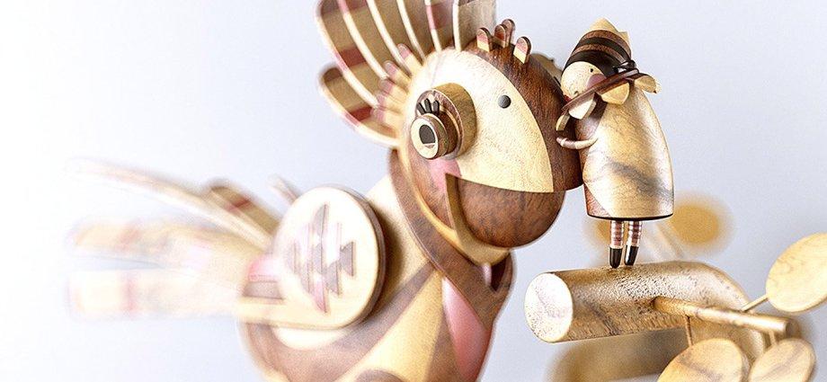 Wooden Stories: 3D Artworks by Mat Szulik
