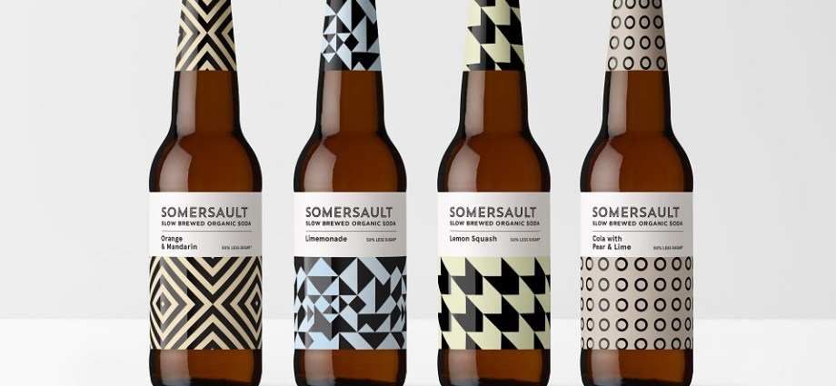 Somersault Melbourne Craft Soda Branding