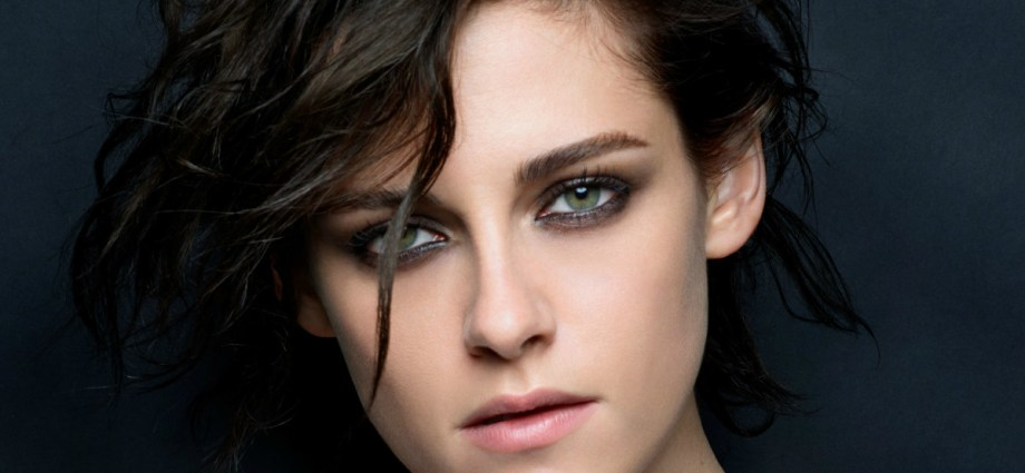 Closeup of Kristen Stewart for Chanel