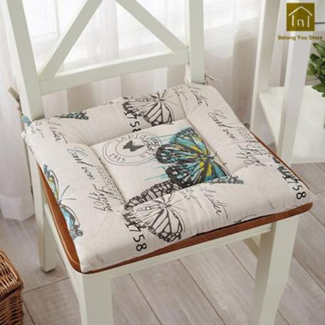 Decorative cotton seat pads