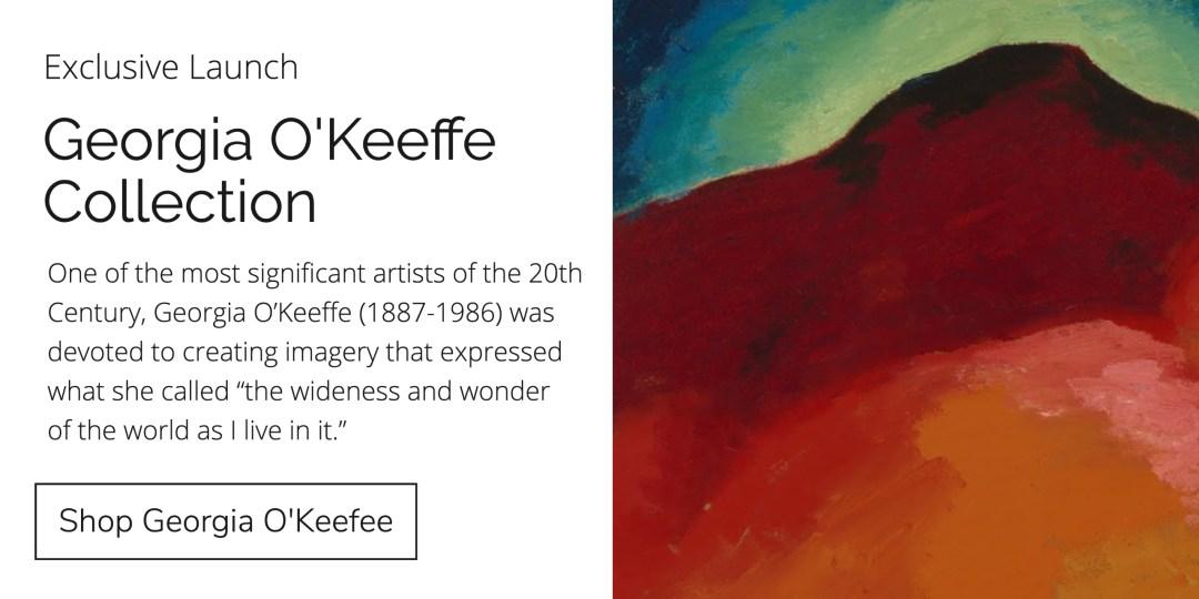 Georgia O'Keeffe Collection Banner
