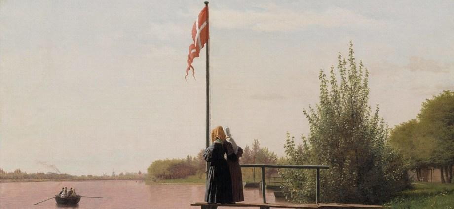 View from Dosseringen near the Sortedam Lake (1838) by Christen Købke