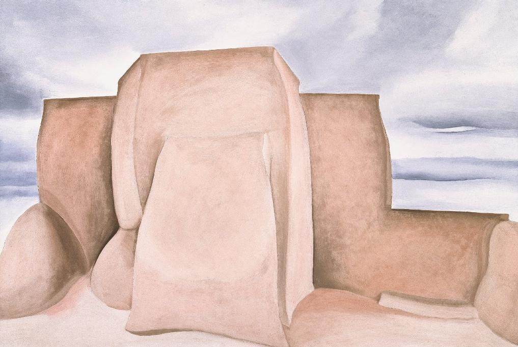 Ranchos Church, New Mexico - Georgia O'Keeffe