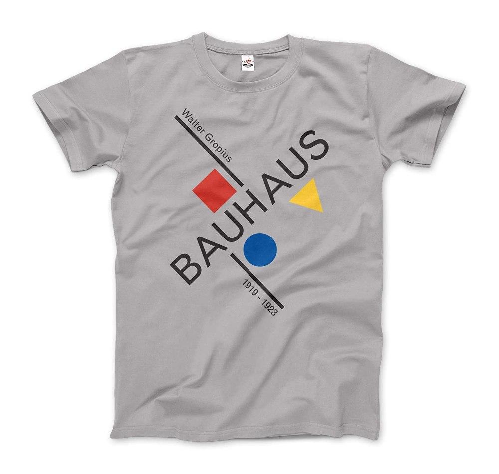 Walter Gropius Bauhaus Artwork T-Shirt (Short and Long-Sleeve)