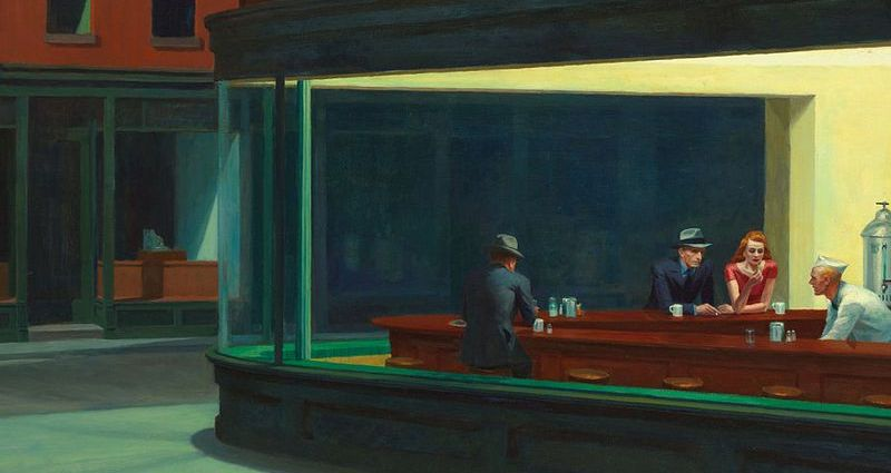 The Night Hawks by Edward Hopper