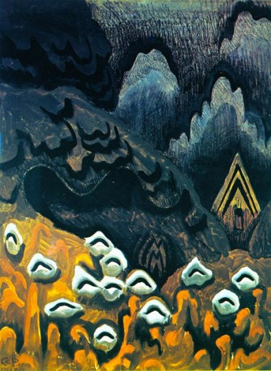 The August North (A memory of childhood) by Charles Burchfield