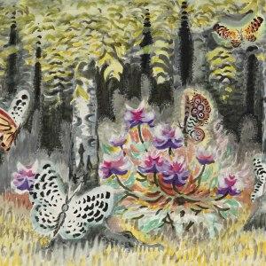 A Dream of Butterflies by Charles Burchfield Art Print