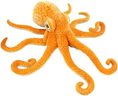 Realistic-Orange-Octopus