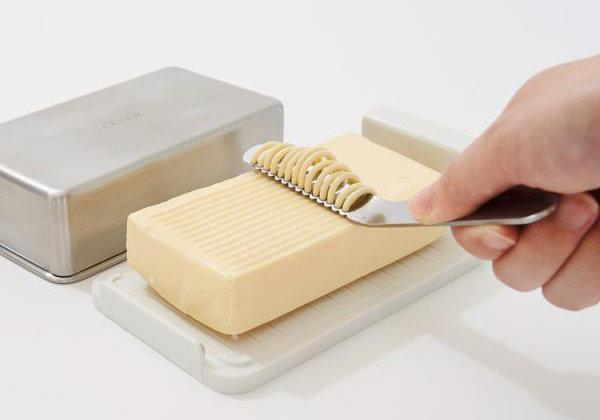 Japanese integrated butter cutter