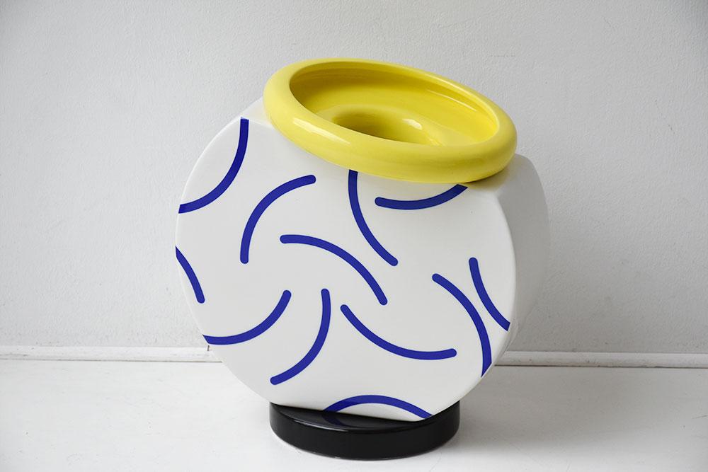 Cucumber Vase by Martine Bedin