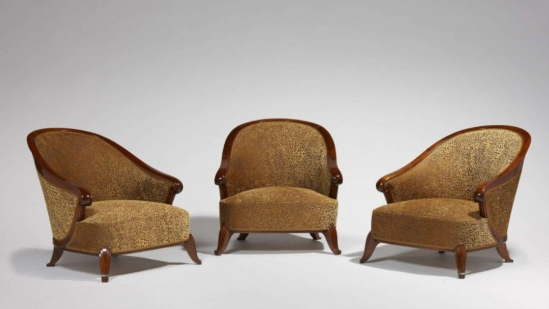 Frechet Brothers three chairs
