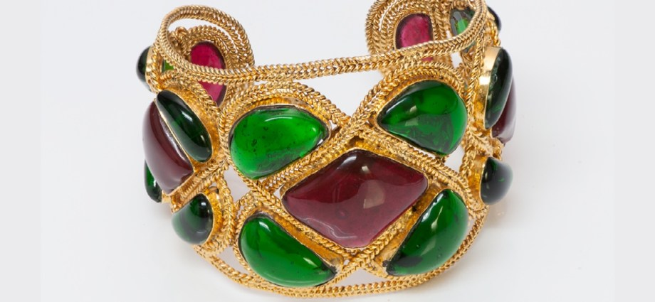 Maison Gripoix costume jewellry