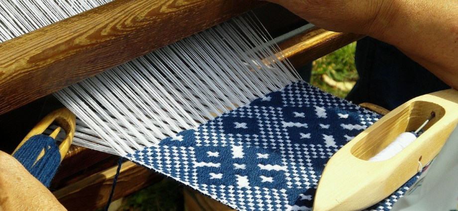 Hand weaving and cloth design