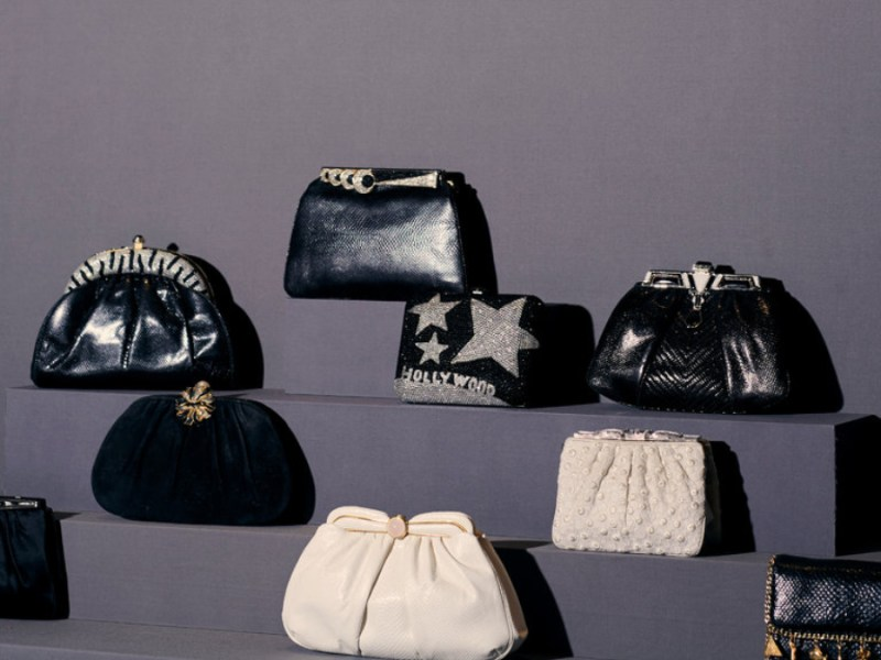 Judith Leiber clutches and purses