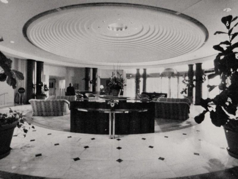 Lobby, Grand Hotel, Washington DC 1987. Charles Pfister