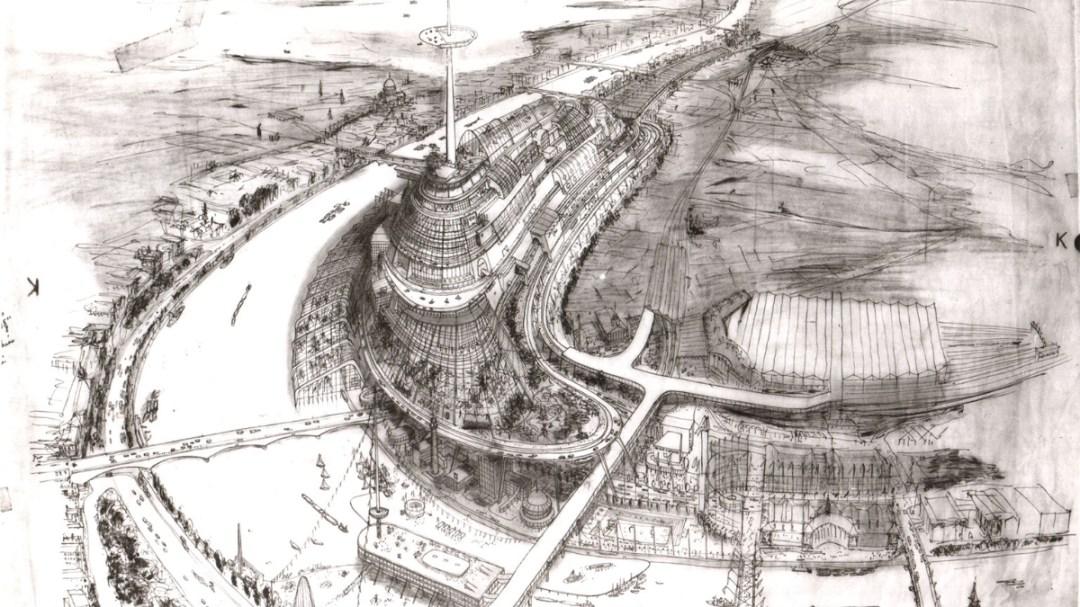 Misha Black Proposal for 1951 Exhibition – 1946