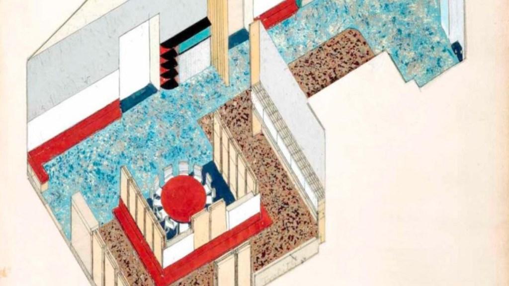 Montesorri Kindergarten design Franz Singer and Friedl Dicker
