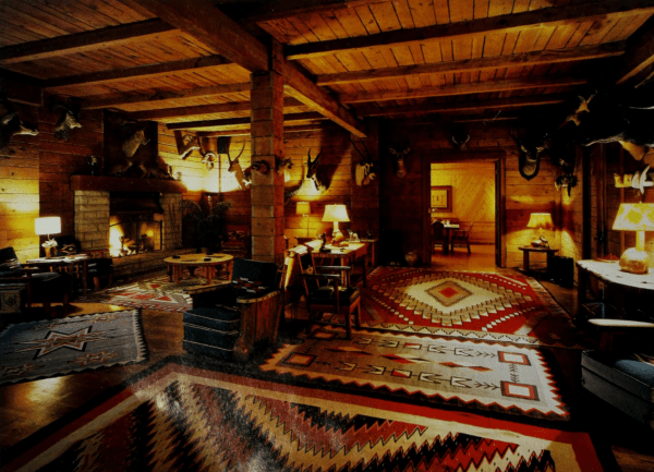 Selection of Molesworth furniture on native american rugs